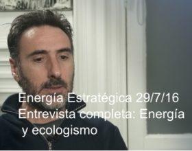 """Juan Carlos Villalonga sobre la licitación de renovables: """"tiene que apostar a reducir el riesgo financiero"""""""