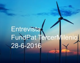 Entrevista FundPat TercerMilenio 28/6/16