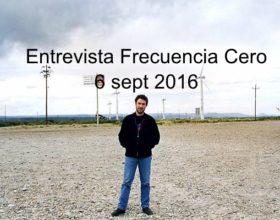 Entrevista con Frecuencia Cero (6/9/16)