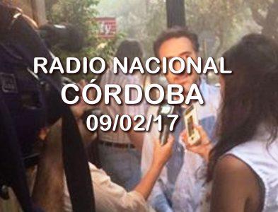 Entrevista en Radio Nacional Córdoba 09/02/17