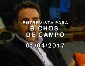 JUAN CARLOS VILLALONGA en  BICHOS DE CAMPO 01/04/2017