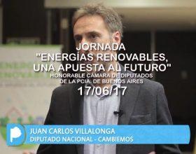 """Jornada """"Energías renovables, una apuesta al futuro""""  17/05/17"""