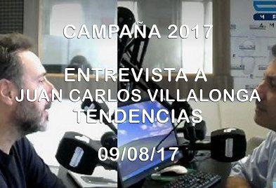 Entrevista a Juan Carlos Villalonga en Tendencias – 09/08/17