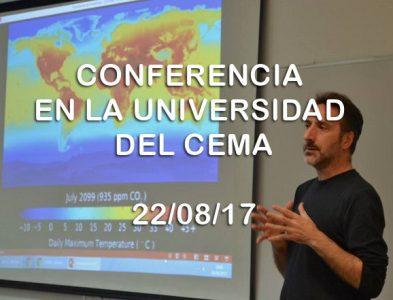 Conferencia de Juan Carlos Villalonga en la Universidad del CEMA
